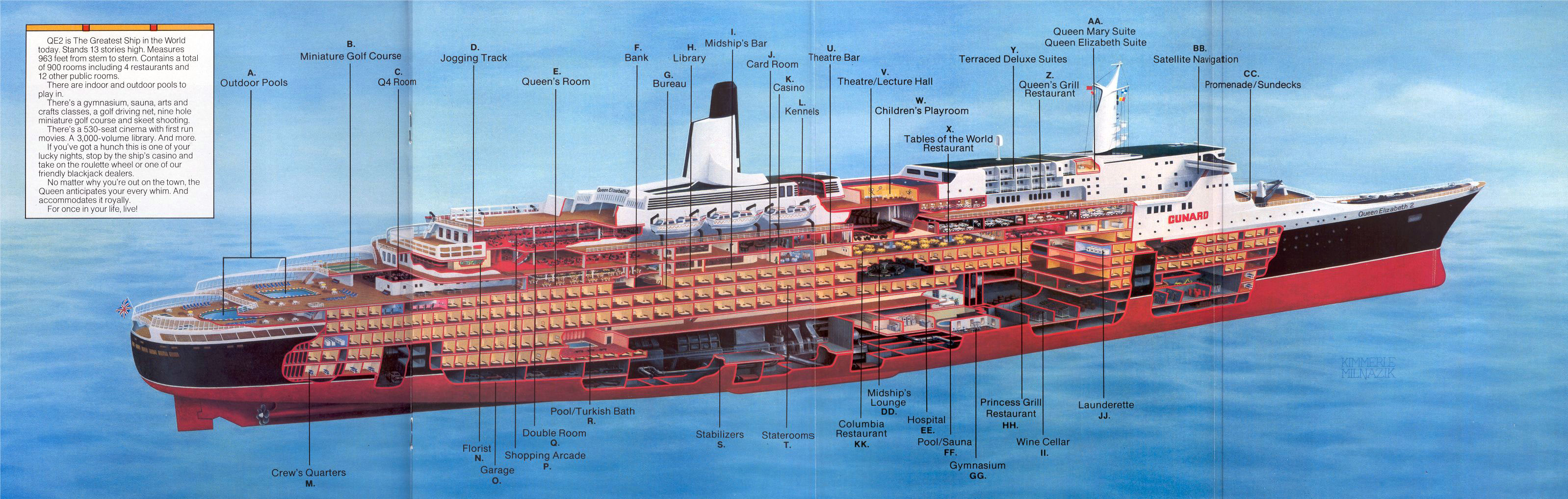 this is the QE2 of 1982.