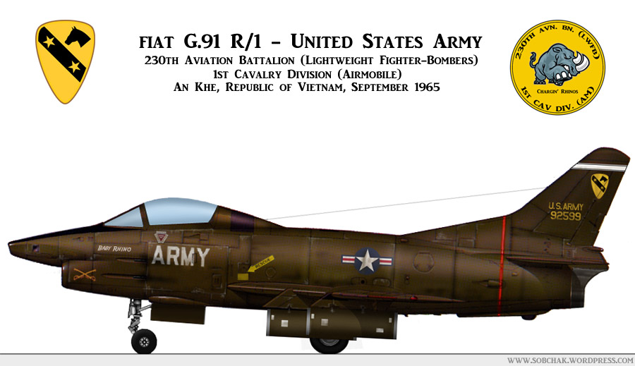 "G-91 R/1 US Army ""Propose 1"""