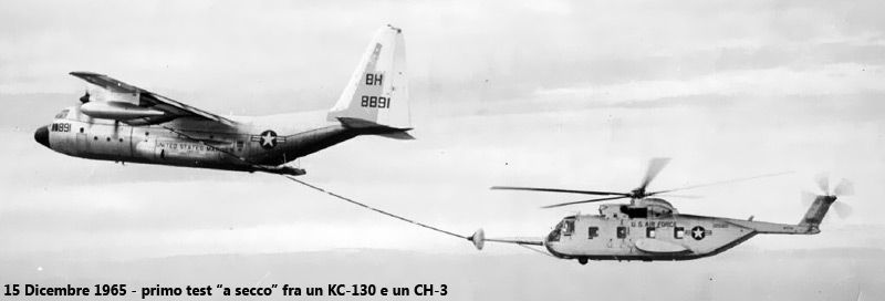 Carburante Elicottero : Primo rifornimento in volo di un elicottero sobchak