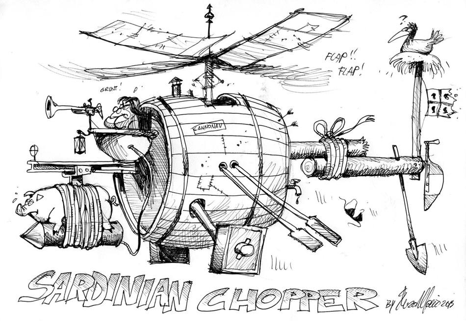 sardinian chopper