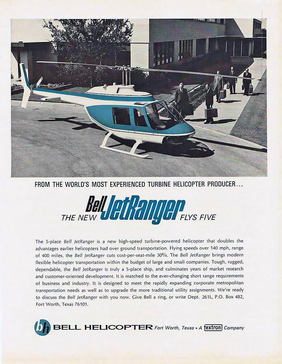 Elicottero Jet Ranger : Ad bell jetranger sobchak security est