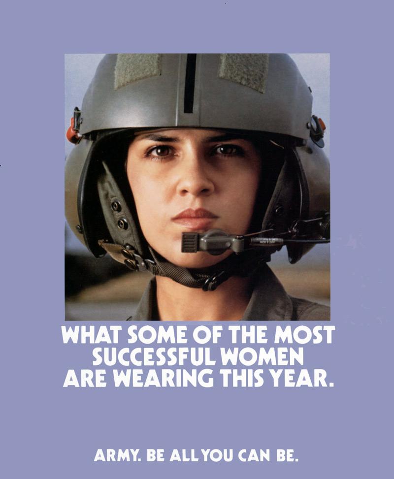 usarmywomanrecruitingposter1990