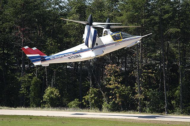 Smithsonain NASM Photo Dane Penland XV-15 Tilt Rotor