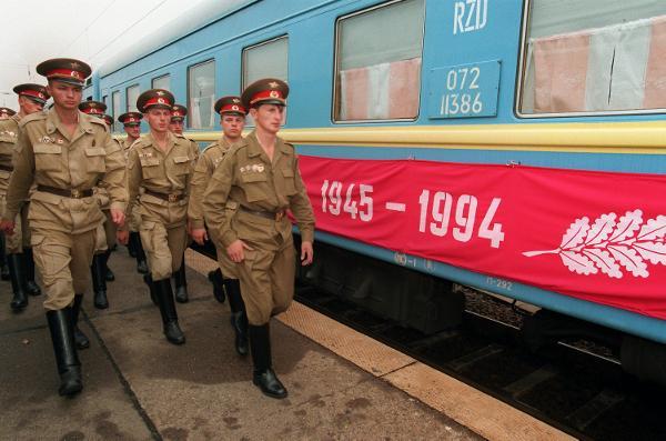 Abzug der russischen Truppen aus Deutschland