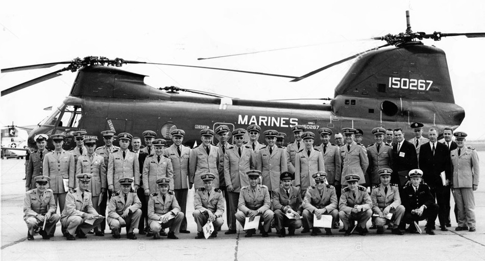 CH-46A BuNo 150267 – Flotation Trials